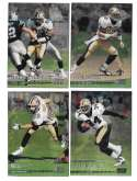 1999 Topps Stadium Club Chrome Football - NEW ORLEANS SAINTS