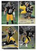 1999 Topps Stadium Club Chrome Football - PITTSBURGH STEELERS