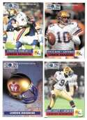 1991 Pro Set World League American Football - London Monarchs