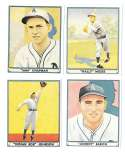 1941 Play Ball Reprints - PHILADELPHIA A's Team set