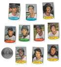 1974 Topps Stamps CLEVELAND INDIANS Team Set