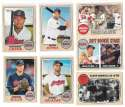 2017 Topps Heritage (1-500) - CLEVELAND INDIANS Team Set
