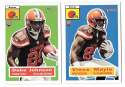2015 Topps Heritage Football - CLEVELAND BROWNS
