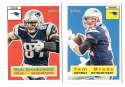 2015 Topps Heritage Football - NEW ENGLAND PATRIOTS