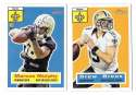 2015 Topps Heritage Football - NEW ORLEANS SAINTS