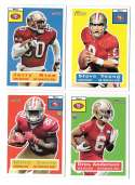 2015 Topps Heritage Football - SAN FRANCISCO 49ERS