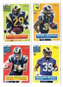 2015 Topps Heritage Football - ST. LOUIS RAMS