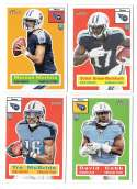 2015 Topps Heritage Football - TENNESSEE TITANS