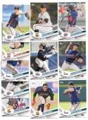 2017 Topps Pro Debut - ATLANTA BRAVES Team Set