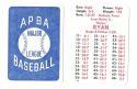 1980 APBA Season - HOUSTON ASTROS Team set