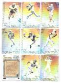 1992 Upper Deck Game Breaker Holograms Football 9 card set