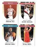 2011-12 NBA Hoops Artist Proofs 4 card lot