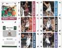 2012-13 Hoops Rookie Impact 28 card complete insert set