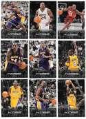 2012-13 Panini Kobe Bryant Anthology 9 card lot