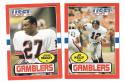 1985 Topps USFL Football Team Set - Houston Gamblers B w/ JIM KELLY