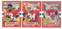 1985 Topps USFL Football Team Set - New Jersey Generals D w/ DOUG FLUTIE RC & Hershal Walker