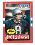 1985 Topps USFL Football Team Set - Los Angeles Express D w/ STEVE YOUNG  read