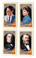 2014 Panini Golden Age Mini Hindu Brown Back - Presidents and First Lady