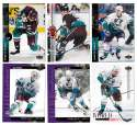 1994-95 Upper Deck Hockey Team Set - Anaheim Mighty Ducks