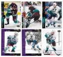 1994-95 Upper Deck Hockey Team Set - Anaheim Mighty Ducks