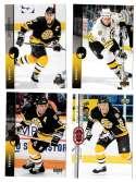 1994-95 Upper Deck Hockey Team Set - Boston Bruins