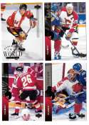 1994-95 Upper Deck Hockey Team Set - Calgary Flames