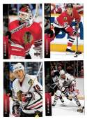 1994-95 Upper Deck Hockey Team Set - Chicago Blackhawks