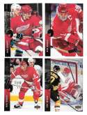 1994-95 Upper Deck Hockey Team Set - Detroit Red Wings