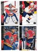 1994-95 Upper Deck Hockey Team Set - Florida Panthers