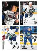 1994-95 Upper Deck Hockey Team Set - Hartford Whalers