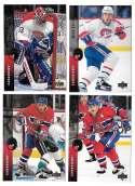 1994-95 Upper Deck Hockey Team Set - Montreal Canadiens