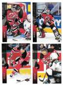1994-95 Upper Deck Hockey Team Set - New Jersey Devils
