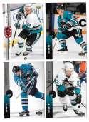 1994-95 Upper Deck Hockey Team Set - San Jose Sharks