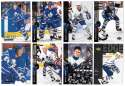 1994-95 Upper Deck Hockey Team Set - Toronto Maple Leafs