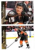 2015-16 Upper Deck (Base) Hockey Team Set - Anaheim Ducks