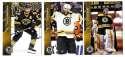 2015-16 Upper Deck (Base) Hockey Team Set - Boston Bruins
