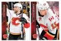 2015-16 Upper Deck (Base) Hockey Team Set - Calgary Flames