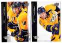 2015-16 Upper Deck (Base) Hockey Team Set - Nashville Predators
