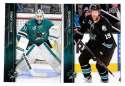 2015-16 Upper Deck (Base) Hockey Team Set - San Jose Sharks