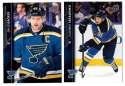 2015-16 Upper Deck (Base) Hockey Team Set - St. Louis Blues