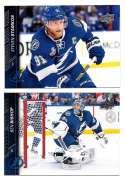 2015-16 Upper Deck (Base) Hockey Team Set - Tampa Bay Lightning