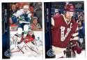 2015-16 Upper Deck (Base) Hockey Team Set - Vancouver Canucks