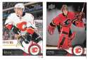 2014-15 Upper Deck (Base) Hockey Team Set - Calgary Flames