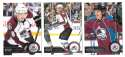 2014-15 Upper Deck (Base) Hockey Team Set - Colorado Avalanche
