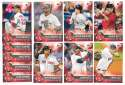 2017 Topps Bunt - BOSTON RED SOX Team Set