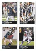 2010 Topps Magic (1-248) Football - ST. LOUIS RAMS