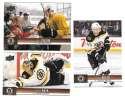 2012-13 Upper Deck (Base 1-200) Hockey Team Set - Boston Bruins