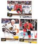 2012-13 Upper Deck (Base 1-200) Hockey Team Set - Chicago Blackhawks