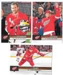 2012-13 Upper Deck (Base 1-200) Hockey Team Set - Detroit Red Wings