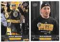 2013-14 Upper Deck (Base) Hockey Team Set - Boston Bruins